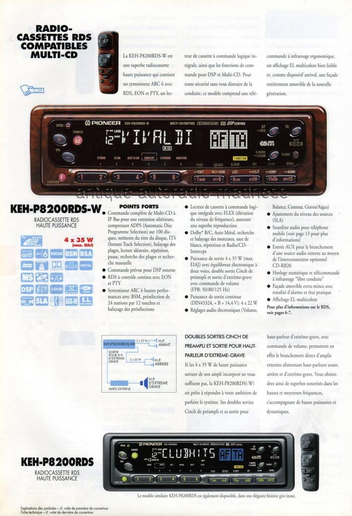 pioneer keh-p8200rds-w 8400 ou deh-p725r-w Pio-1996-Cata-be_26-aam
